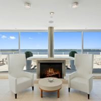 3 Waterfronts with Fire Features